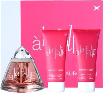 Mauboussin A la Folie Gift Set  I. voor Vrouwen