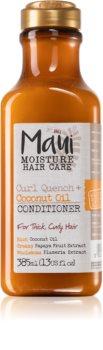 Maui Moisture Curl Quench + Coconut Oil balsam cu ulei de nucă de cocos pentru par ondulat si cret