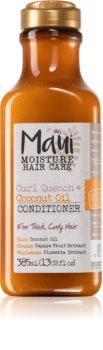 Maui Moisture Curl Quench + Coconut Oil kókuszolajat tartalmazó kondicionáló a hullámos és göndör hajra