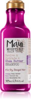 Maui Moisture Revive & Hydrate + Shea Butter feuchtigkeitsspendendes und revitalisierendes Shampoo für trockenes und beschädigtes Haar