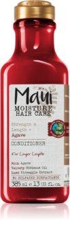 Maui Moisture Strength & Anti-Breakage + Agave balsam pentru indreptare pentru par degradat sau tratat chimic