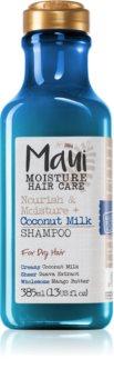 Maui Moisture Nourish & Moisture + Coconut Milk sampon hidratant pentru par uscat