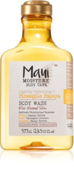 Maui Moisture Lightly Hydrating + Pineapple Papaya gel de dus hidratant