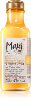 Maui Moisture Lightly Hydrating + Pineapple Papaya Bodymilch zum Duschen