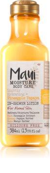 Maui Moisture Lightly Hydrating + Pineapple Papaya tělové mléko do sprchy