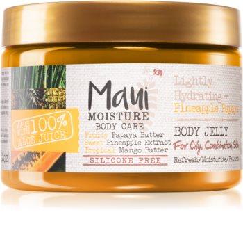 Maui Moisture Lightly Hydrating + Pineapple Papaya gel de dus jeleu pentru ten gras