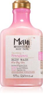 Maui Moisture Calming + Frangipani zklidňující sprchový gel pro suchou pokožku