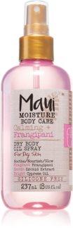 Maui Moisture Calming + Frangipani suchý olejový sprej pro suchou pokožku