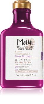 Maui Moisture Extra Hydrating + Shea Butter hidratáló tusoló gél a nagyon száraz bőrre