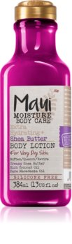 Maui Moisture Extra Hydrating + Shea Butter intenzíven hidratáló testápoló tej nagyon száraz bőrre