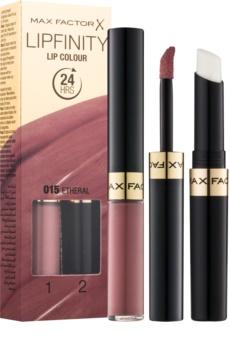 Max Factor Lipfinity Lip Colour дълготрайно червило с балсам