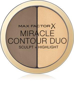 Max Factor Miracle Contour Duo auto-bronzant cremos și iluminator