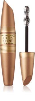 Max Factor Rise & Shine maskara za volumen in privihanje trepalnic