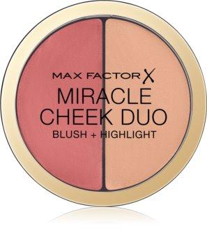 Max Factor Miracle Cheek Duo krémová tvářenka a rozjasňovač