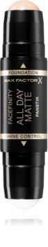 Max Factor Facefinity All Day Matte Panstik Make up und Primer in der Form eines Stiftes