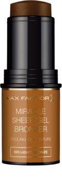 Max Factor Miracle Sheer Gel bronzer gel en stick