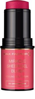 Max Factor Miracle Sheer Gel blush en stick