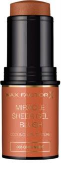 Max Factor Miracle Sheer Gel róż do policzków w sztyfcie