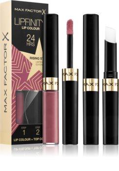 Max Factor Lipfinity Rising Stars langanhaltender flüssiger Lippenstift mit Balsam