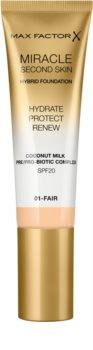 Max Factor Miracle Second Skin hidratáló krémes make-up SPF 20
