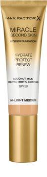 Max Factor Miracle Second Skin fond de teint crème hydratant SPF 20