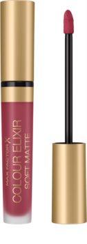 Max Factor Colour Elixir Soft Matte langanhaltender flüssiger Lippenstift