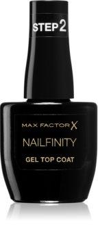 Max Factor Nailfinity Gel Top Coat zselés fedő körömlakk