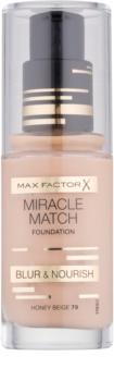 Max Factor Miracle Match течен фон дьо тен с хидратиращ ефект