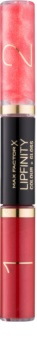 Max Factor Lipfinity Colour and Gloss langlebiger, glänzender Lippenstift 2 in 1