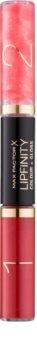 Max Factor Lipfinity Colour and Gloss ruj rezistent si luciu de buze. 2 in 1