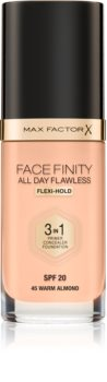 Max Factor Facefinity All Day Flawless дълготраен фон дьо тен SPF 20