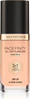 Max Factor Facefinity All Day Flawless podkład o przedłużonej trwałości SPF 20