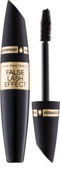 Max Factor False Lash Effect vízálló szempillaspirál a dús és szétválasztott pillákért