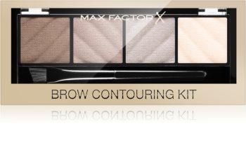 Max Factor Brow Contouring Kit konturovací paletka na obočí