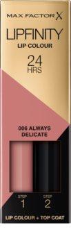 Max Factor Lipfinity Lip Colour trwała szminka z balsamem
