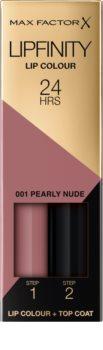 Max Factor Lipfinity Lip Colour hosszan tartó rúzs balzsammal