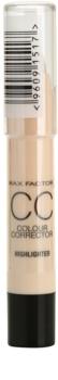 Max Factor Colour Corrector corrector contra las imperfecciones de la piel