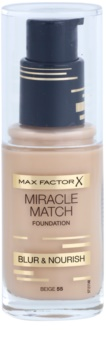Max Factor Miracle Match fond de teint liquide pour un effet naturel
