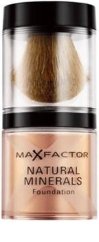 max factor natural minerals foundation