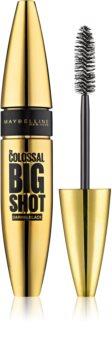 Maybelline The Colossal Big Shot Daring Black extra fekete dúsító szempillaspirál