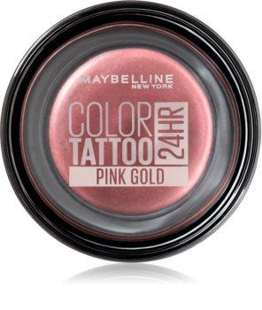 Maybelline Color Tattoo żelowe cienie do powiek