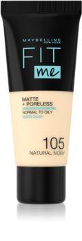 Maybelline Fit Me! Matte+Poreless machiaj mat pentru piele normală și grasă