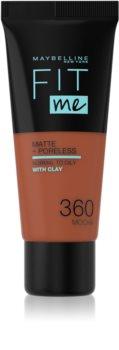 Maybelline Fit Me! Matte+Poreless Mattierendes Make-up für die normale bis fettige Gesichtshaut