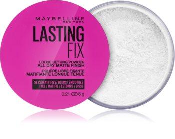 Maybelline Lasting Fix sypký transparentní pudr