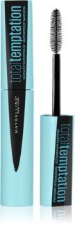 Maybelline Total Temptation Wasserfester Mascara für mehr Volumen und die Teilung der Wimpern