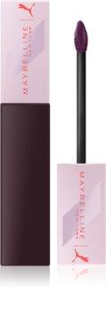 Maybelline Puma x Maybelline SuperStay Matte Ink ruj de buze lichid, mat și de lungă durată