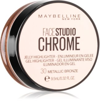 Maybelline Face Studio Chrome Jelly Highlighter iluminator din gel