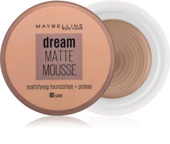 Maybelline Dream Matte Mousse maquillaje matificante