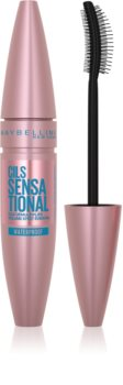 Maybelline Lash Sensational Wasserfester Mascara zur Verlängerung und für mehr Volumen der Wimpern
