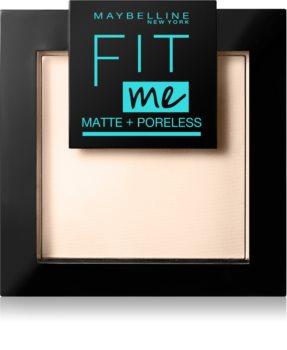 Maybelline Fit Me! Matte+Poreless mattító púder